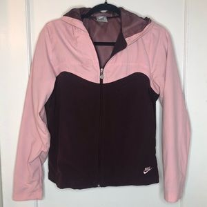 Nike Windbreaker jacket pink small